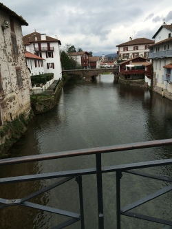 St Jean-Pied-de-Port. The first steps onto the Camino.