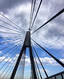 Anzac Bridge, Pyrmont, Sydney.